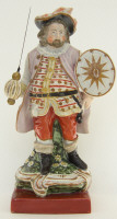Figure of Falstaff by Wood and Caldwell Staffordshire 1791-1818